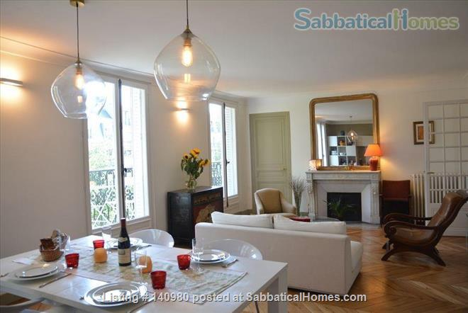 Parisian two bedroom, two bathroom apartment full of charm!  Home Rental in Paris, IDF, France 1