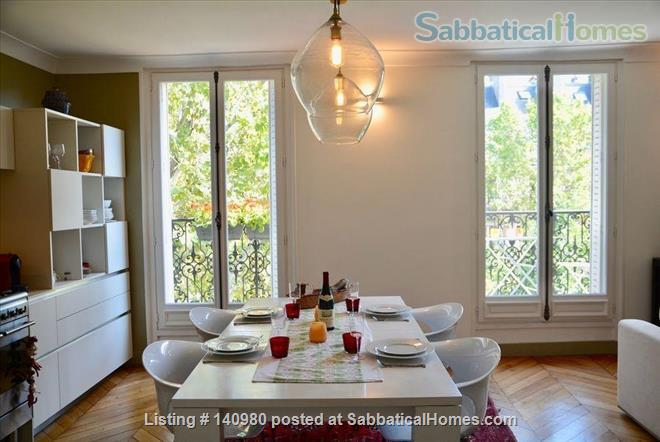 Parisian two bedroom, two bathroom apartment full of charm!  Home Rental in Paris, IDF, France 0