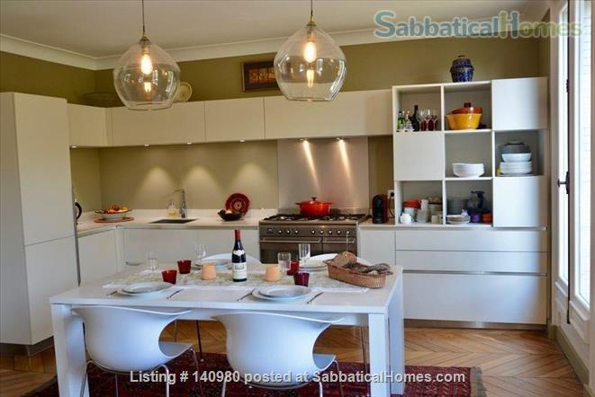 Parisian two bedroom, two bathroom apartment full of charm!  Home Rental in Paris, IDF, France 4