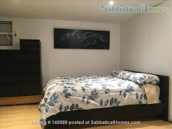 Private entrance 2 BD in vibrant Leslieville, near Ryerson, UofT Home Rental in Toronto, Ontario, Canada 0