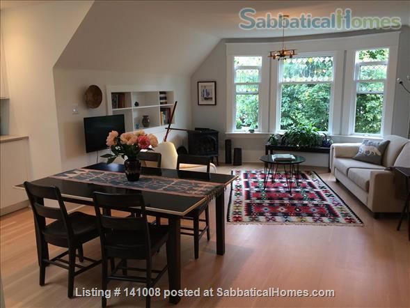 Contemporary, spacious, bright, quiet apartment in lively Commercial Dr Neighbourhood Home Rental in Vancouver, British Columbia, Canada 1