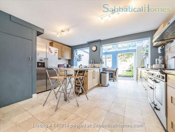 4 bed Family Home with garden in SW London just next to Richmond Park Home Rental in Kingston upon Thames, England, United Kingdom 1