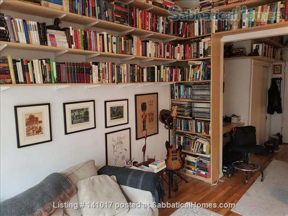 Book-Filled Upper West Side Apartment Home Rental in New York, New York, United States 0