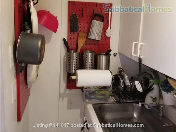 Book-Filled Upper West Side Apartment Home Rental in New York, New York, United States 3