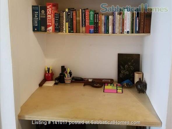 Book-Filled Upper West Side Apartment Home Rental in New York, New York, United States 4