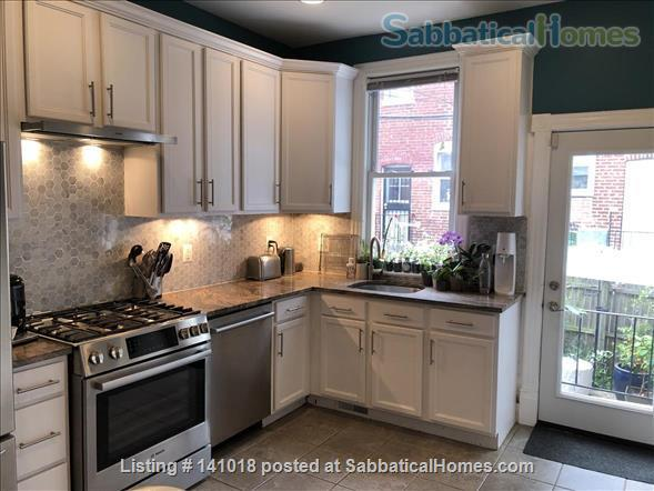 Historic row house in Hip Columbia Heights Home Rental in Washington, District of Columbia, United States 0