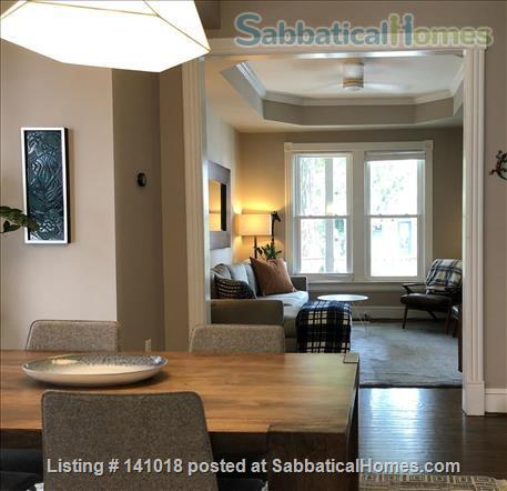 Historic row house in Hip Columbia Heights Home Rental in Washington, District of Columbia, United States 4