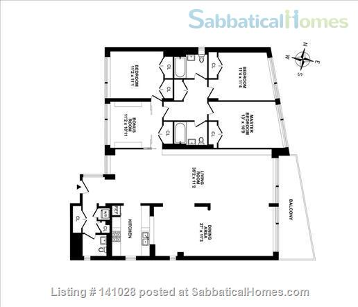 4br, 2.5bath, sunny, light Home Rental in Riverdale, New York, United States 3