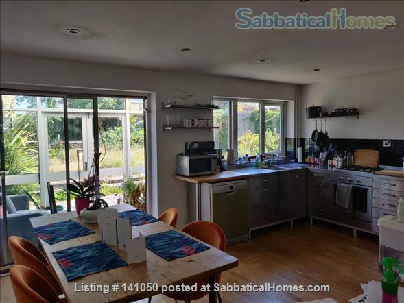 Bright, Plant-Filled 4 Bedroom Near the Coast Home Rental in Wivenhoe, England, United Kingdom 3