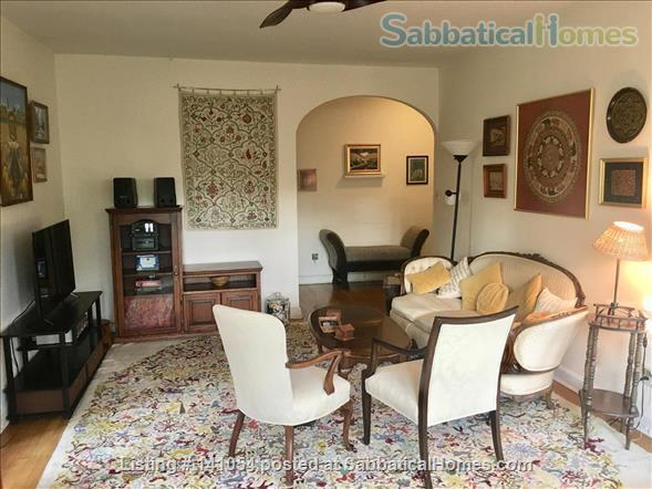 Charming, spacious, light filled 1 BR+large den condo - furnished, partially furnished or unfurnished  condo Cleveland Park/Van Ness Home Rental in Washington, District of Columbia, United States 1