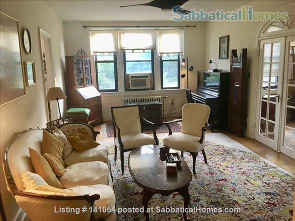 Charming, spacious, light filled 1 BR+large den condo - furnished, partially furnished or unfurnished  condo Cleveland Park/Van Ness Home Rental in Washington, District of Columbia, United States 0