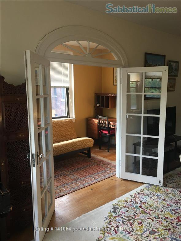 Charming, spacious, light filled 1 BR+large den condo - furnished, partially furnished or unfurnished  condo Cleveland Park/Van Ness Home Rental in Washington, District of Columbia, United States 2