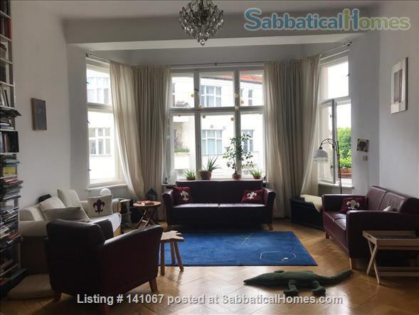 Two lovely rooms  for 2 x 2 persons in a shared apartment with study in Berlin Schöneberg Home Rental in Berlin, Berlin, Germany 4