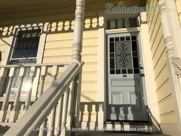 Office/study, bedroom and private bathroom with shared kitchen Home Rental in Berkeley, California, United States 1