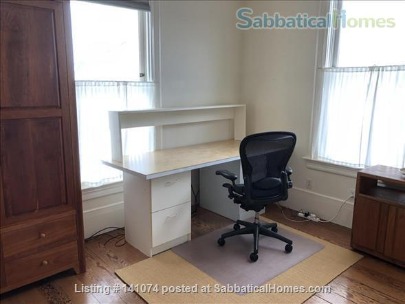 Office/study, bedroom and private bathroom with shared kitchen Home Rental in Berkeley, California, United States 2