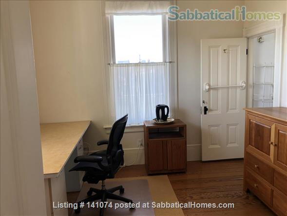 Office/study, bedroom and private bathroom with shared kitchen Home Rental in Berkeley, California, United States 3