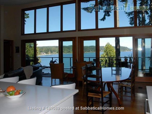 Puget Sound beach front home Home Rental in Suquamish, Washington, United States 0