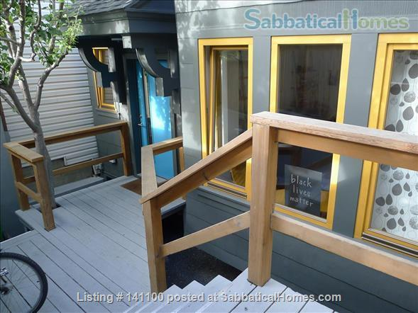 Furnished 3 bd/1 ba Glen Park Home w/Transit & Fwy Access to Universities Home Rental in San Francisco, California, United States 0