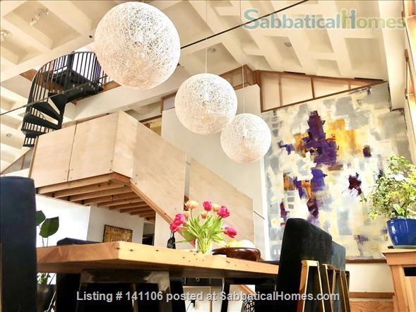 Beautiful Recently Converted Church  Home Rental in Berkeley, California, United States 2