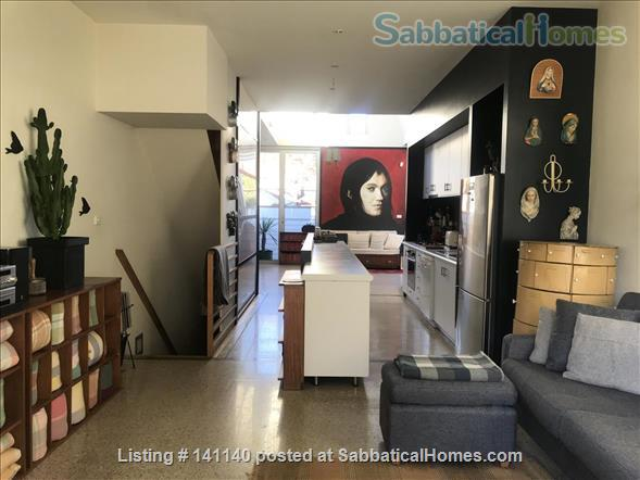 Walk everywhere!  Lovely large sunny home in gorgeous Fitzroy. Home Rental in Fitzroy, VIC, Australia 2