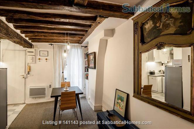 Cosy Artist Hideway in the Upper Paris Marais District Home Rental in Paris, Île-de-France, France 4