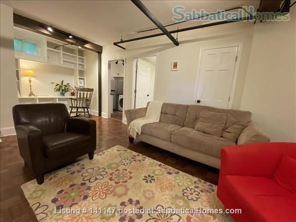 Charming fully furnished one bedroom Brookline apartment on a quiet street Home Rental in Brookline, Massachusetts, United States 1