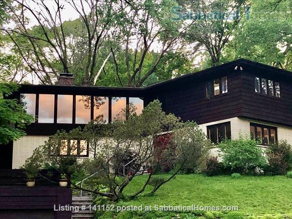 Art+nature-lover's sanctuary/historic home of former UW Chancellor Home Rental in Madison, Wisconsin, United States 1