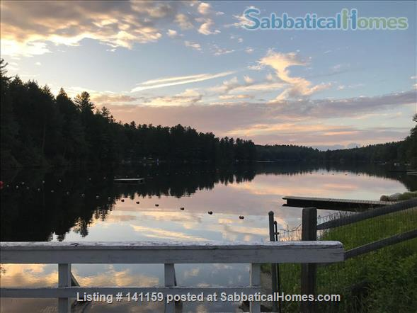 Beautiful lakefront home 20 min from Northampton Home Rental in Goshen 9