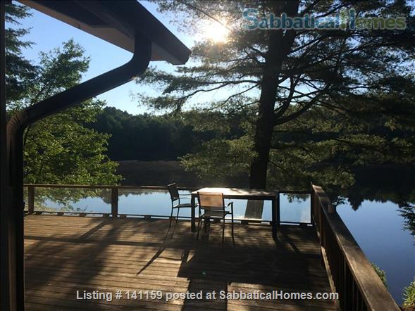 Beautiful lakefront home 20 min from Northampton Home Rental in Goshen 1