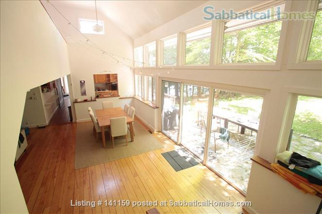Beautiful lakefront home 20 min from Northampton Home Rental in Goshen 0