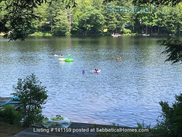 Beautiful lakefront home 20 min from Northampton Home Rental in Goshen 7