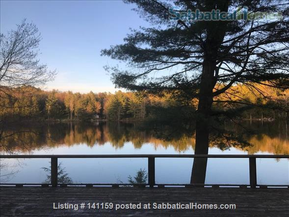 Beautiful lakefront home 20 min from Northampton Home Rental in Goshen 8
