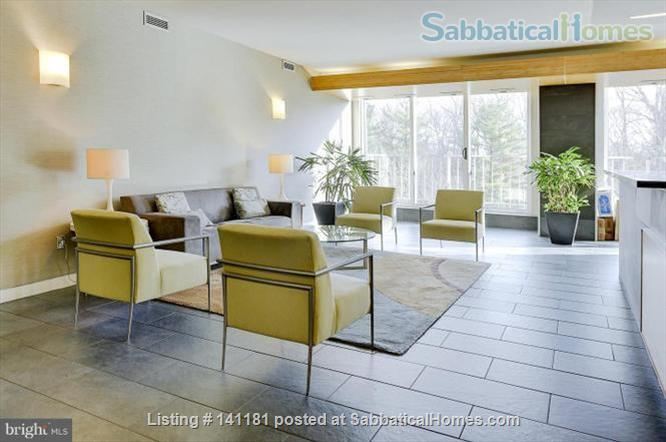 Large Furnished 1BR condo w/sunshine, parking on Red Line near AU Home Rental in Washington, District of Columbia, United States 1