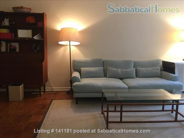 Large Furnished 1BR condo w/sunshine, parking on Red Line near AU Home Rental in Washington, District of Columbia, United States 0