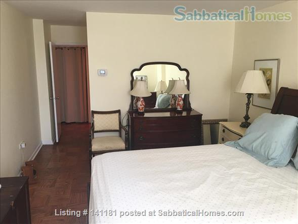 Large Furnished 1BR condo w/sunshine, parking on Red Line near AU Home Rental in Washington, District of Columbia, United States 5
