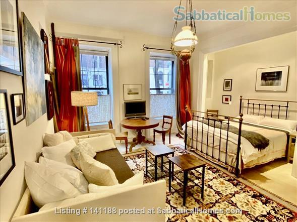 Studio Apartment steps from Central Park Home Rental in New York, New York, United States 1
