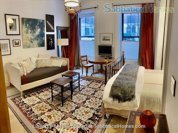 Studio Apartment steps from Central Park Home Rental in New York, New York, United States 0