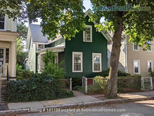 Single Family Cottage in Cambridge, right between Harvard and MIT Home Rental in Cambridge, Massachusetts, United States 1