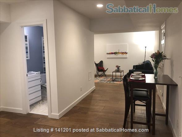 Furnished, two-bedroom basement apartment steps to D.C. and Bethesda and Metro Home Rental in Chevy Chase, Maryland, United States 1