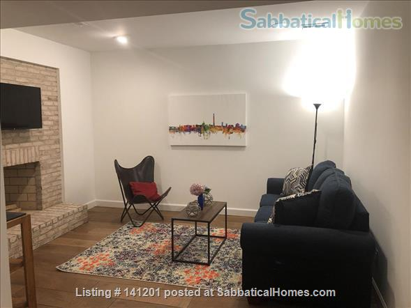 Furnished, two-bedroom basement apartment steps to D.C. and Bethesda and Metro Home Rental in Chevy Chase, Maryland, United States 2