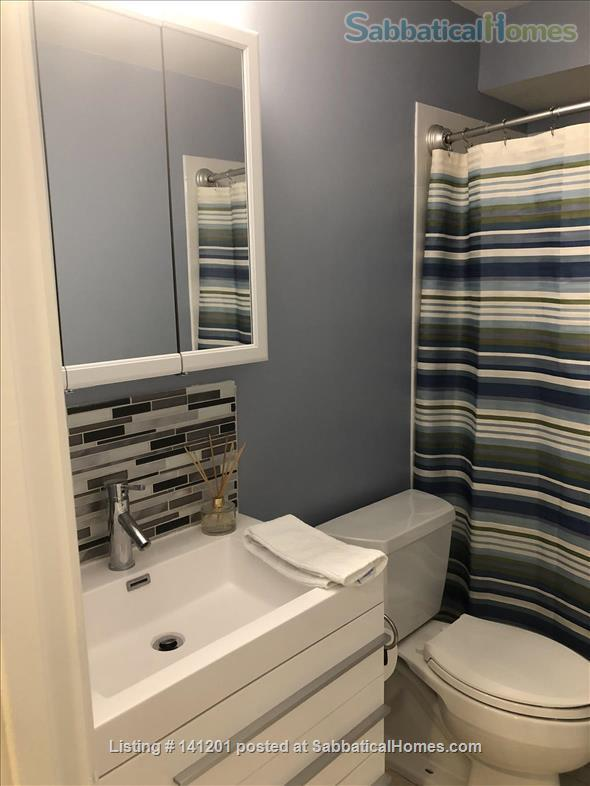 Furnished, two-bedroom basement apartment steps to D.C. and Bethesda and Metro Home Rental in Chevy Chase, Maryland, United States 5