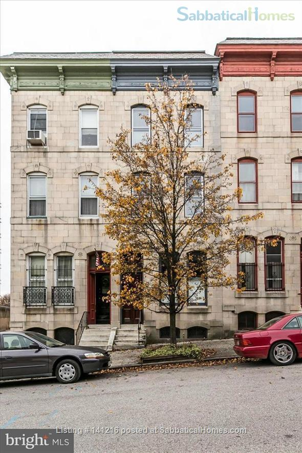 Bolton Hill Baltimore, charm and comfort  Home Rental in Baltimore, Maryland, United States 3