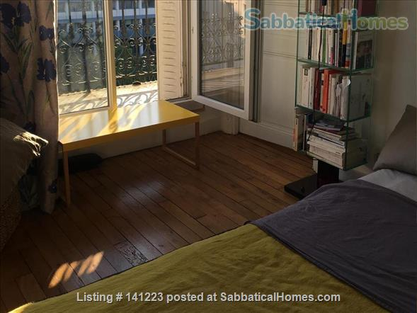 Paris center  typical Parisian  3  sunny rooms  with balcony Home Rental in Paris, IDF, France 9