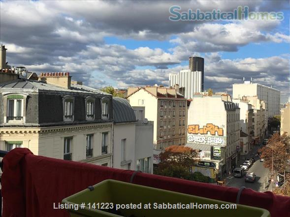 Paris center  typical Parisian  3  sunny rooms  with balcony Home Rental in Paris, IDF, France 1