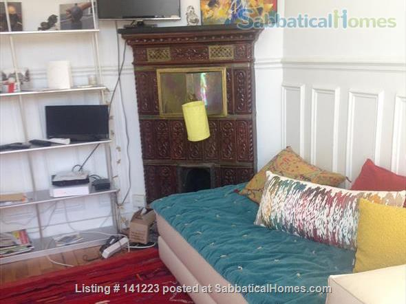 Paris center  typical Parisian  3  sunny rooms  with balcony Home Rental in Paris, IDF, France 0