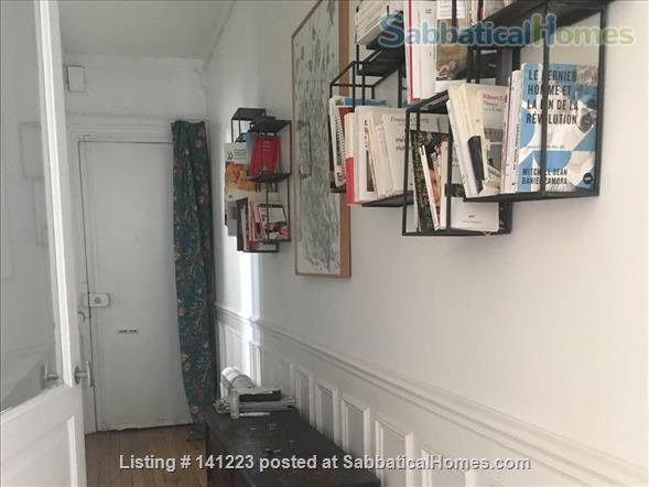 Paris center  typical Parisian  3  sunny rooms  with balcony Home Rental in Paris, IDF, France 5