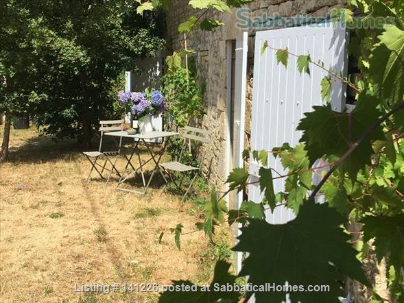 Calm stone house in a quiet hamlet in Poitou Charentes, France  Home Rental in Celles-sur-Belle, Nouvelle-Aquitaine, France 1