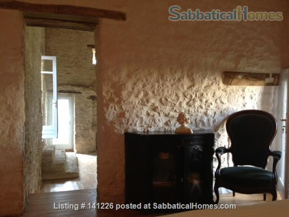 Calm stone house in a quiet hamlet in Poitou Charentes, France  Home Rental in Celles-sur-Belle, Nouvelle-Aquitaine, France 8