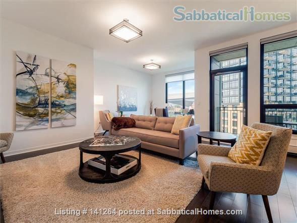 2BR+Den Condo with amazing finishes and view close to U of M: West Bank Home Rental in Minneapolis, Minnesota, United States 1