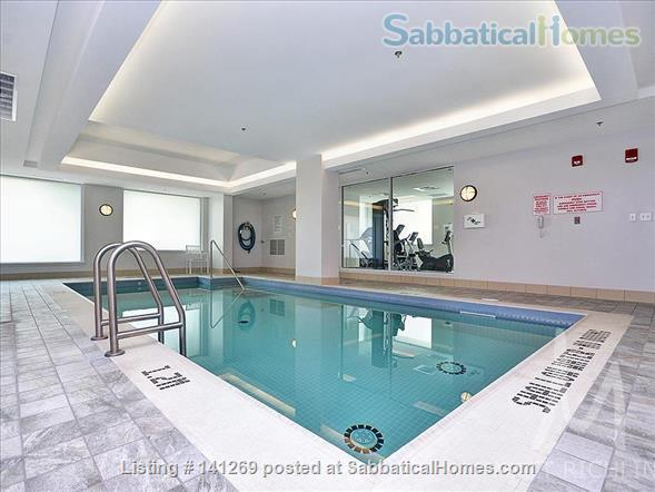 Fully Furnished 2 Bedroom + 2 Bath Condo, 5 min walk to U Ottawa Home Rental in Ottawa, Ontario, Canada 0